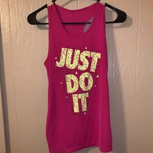 Nike tank top, only worn once